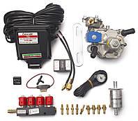 Комплект Torelli T3 Pro OBD, редуктор Alaska, форсунки Valtek, фильтр, датчик уровня топлива АЕВ 1090, фото 1