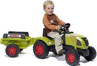 Трактор Педальный с Прицепом Claas Ares Falk 992В