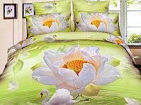 Постельное белье Полисатин 3D ТМ Leleka-Textile.2.0 спальный