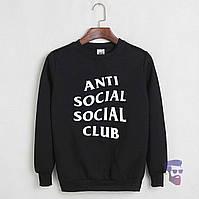 Свитшот Anti social club черный
