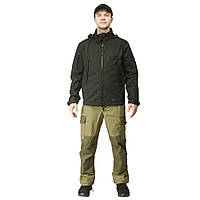 Куртка мужская софтшел Urban Black