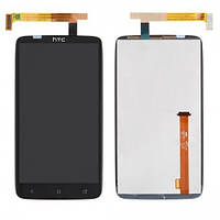 Дисплей HTC One X (S720e) / One XL (X325), з сенсором (Чорний) Original