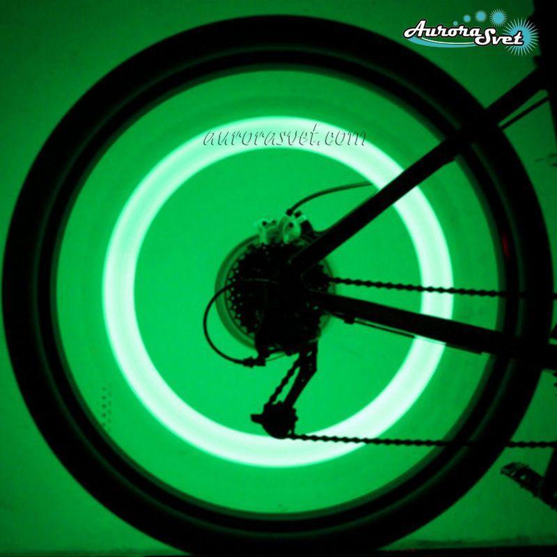 Светодиодная силиконовая подсветка на спицы AuroraSvet