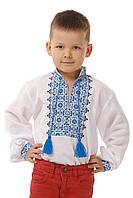 Вышитая рубашка для мальчика, фото 1