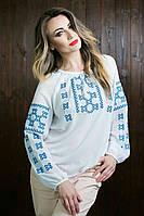 Вышиванка  блуза  женская  Шифон 1008 ( С.Е.С.)