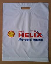 Поліетиленові пакети банан з укріпленою ручкою Shell