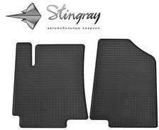 """Коврики Резиновые """"Stingray"""" на Hyundai Accent (c 2010---) хюндай акцент"""
