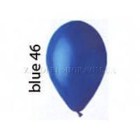 Латексные воздушные шары G110_46 Gemar Италия, расцветка: пастель синий, Диаметр 12 дюймов/30 см, 100 штук в у