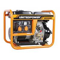 Дизельный генератор однофазный Q-Power DG5500E 5кВт 230В