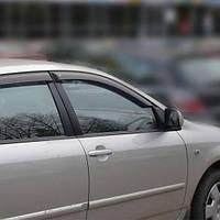 COBRA TUNING Дефлекторы окон на TOYOTA Corolla (E12/13) '01-06 хэтчбек 5d (накладные)