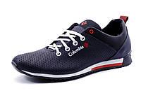 Туфли  Columbia мужские спортивные, натуральная кожа, темно-синие, р. 40 41 42 43 44
