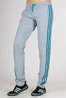 Спортивные штаны женские с лампасами