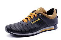 Туфли  Columbia мужские спортивные, натуральная кожа, черные с коричневым, р. 40 43 44