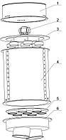 Фильтр воздушный для силоса цемента автоматический , фото 1