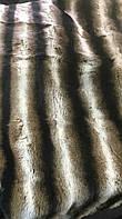 Пластина кролика рэкса под шиншилу коричневая полоса(120на60см)