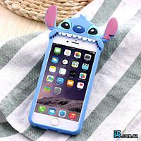 Чехол силиконовый Стич 3d мультфильм на Iphone 7