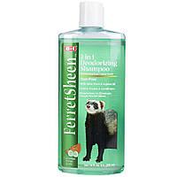 Шампунь 8 in 1 FerretSheen Deodorizing Shampoo для тхорів дезодоруючий, 295 мл