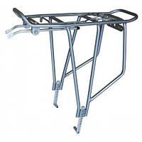 """Багажник велосипедний 26-28"""" disc алюмінієвий сірий (SW-CA019SJBS) Standwell"""