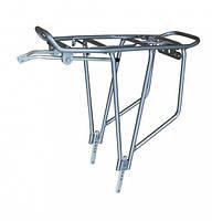 """Багажник велосипедний 26-28"""" v-brake алюмінієвий сірий (SW-CA019SJS) Standwell"""