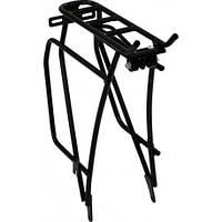 """Багажник велосипедний 26"""" v-brake CroMoly на 40 кг чорний (SW-CM001-BK) Standwell"""