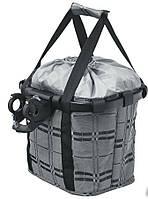 Кошик-сумка Shopper на кермо велосипеда 99000091 KLS, колір сірий