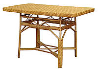 Стол из лозы СЖ-7 (прямоугольный).