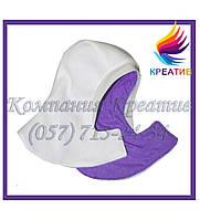 Манишки флисовые с капюшоном на липучке с нанесением логотипа (под заказ от 50 ед.), фото 1