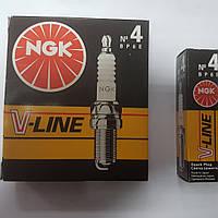 Свечи зажигания V-Line 4 (BP6ES) Ваз 1шт