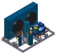 Холодильний агрегат на базі компресора Frascold Z35106y , що був в експлуатації  1999 р.в.