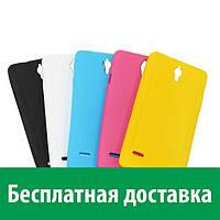Чехол-бампер TPU для Huawei Acsend G700 (матовый) (Хуавей г 700, аскенд г 700, асценд джи 700, дж 700)
