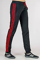 Спортивные штаны женские с лампасами, фото 1