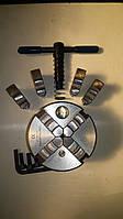 Патрон токарный 80 мм 4-х кулачковый