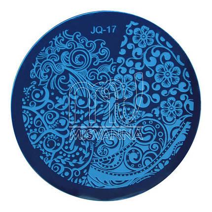 Пластина (диск) для стемпинга,JQ-17, фото 2