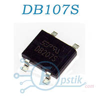 Диодный мост DB107S, 1A 1000В, SOP-4