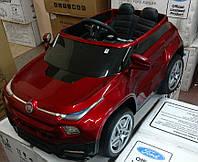 Детский электромобиль FIAT M 3292, ЕВА колеса,кожаное сидение,Автомобильная краска!красный