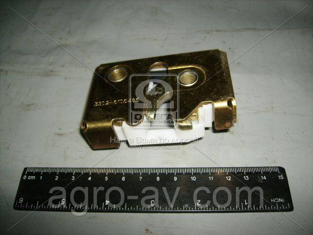 Механизм дверн. замка наружн.лев.(шоколадка) (3302-6105485) ГАЗЕЛЬ <ДК>