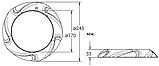Прожектор светодиодный Aquaviva LED005–546LED (33 Вт) RGB / бетон / лайнер, фото 6