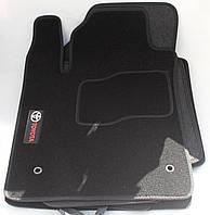 Коврики в салон текстильные Toyota Avalon 2005- материал Ciak гран черн. вышивка (5шт/комп)