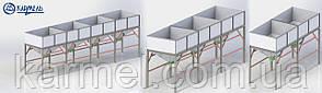 Бункера для инертных материалов KARMEL