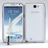 "Китайский смартфон Samsung Galaxy Note 2 N7100, Android, дисплей 5"" + мультитач, Wi-Fi, 2 SIM, 5 Мп. Белый"