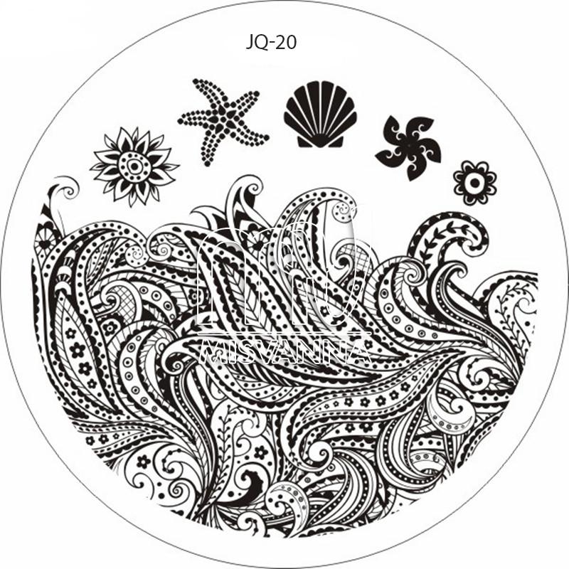 Пластина (диск) для стемпинга,JQ-20