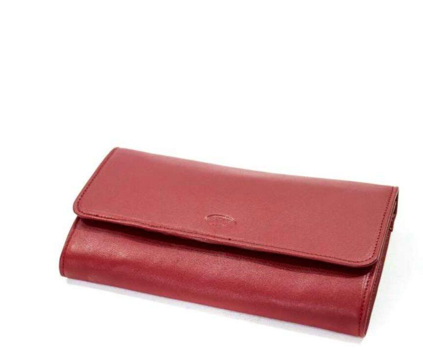 Кошелек кожаный женский Katana красный 553106.