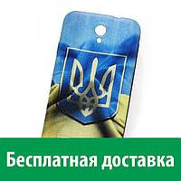 Чехол (бампер) для FlyIQ4415 (Украинская символика) (Флай iq 4415, айкью 4415 эра стайл 3)