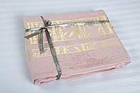 Простынь махровая Cestepe Bamboo - Altin Agac 160*200 розовый