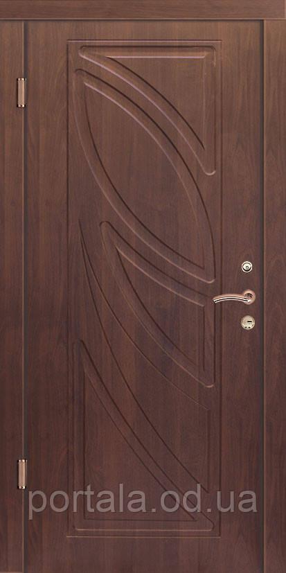 """Вхідні двері для вулиці """"Портала"""" (Комфорт Vinorit) ― модель Пальміра"""