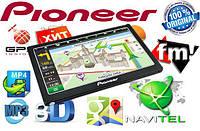 "GPS навигатор Pioneer 703+ 7"" Win CE 6.0 + Карты"