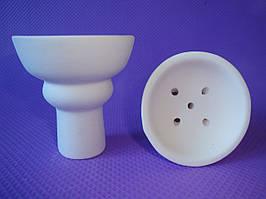 Чаша классическая средняя с белой глины