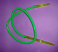 Шланг(трубка)силиконовая, акриловый мундштук - Зеленый