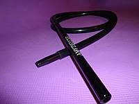 Шланг(трубка)силиконовая AMY DeLuxe Aluminium Long длинный  Черный