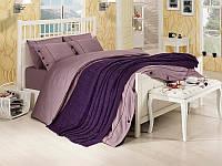 Набор постельное белье + вязаное покрывало  First Choice Nirvana Style Mor